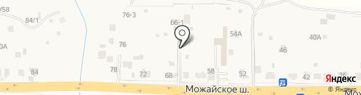 Винтаж на карте Больших Вязёмов
