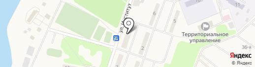 Почтовое отделение №143050 на карте Больших Вязёмов