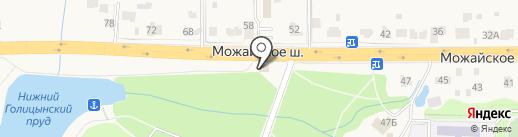 Усадьба на карте Больших Вязёмов