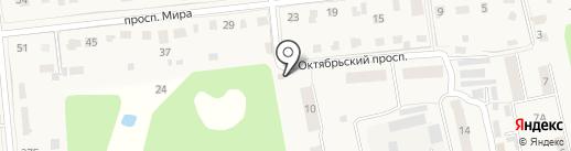 Продуктовый магазин на карте Голицыно
