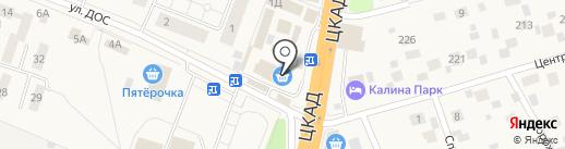 Ника на карте Калининца