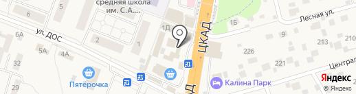 Магазин нижнего белья на карте Калининца