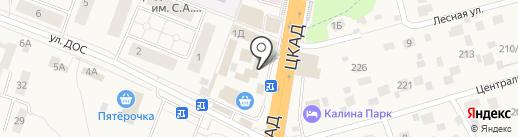 Подмосковные вечера на карте Калининца