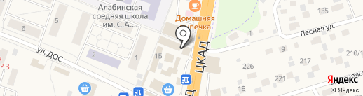 Одинмед на карте Калининца