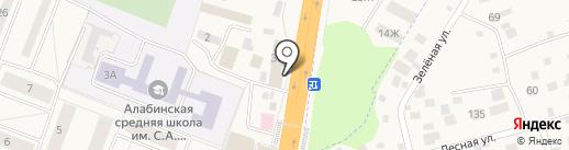 Гостиница на карте Калининца