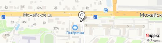 Магазин детских товаров на карте Больших Вязёмов
