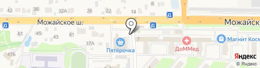Киоск печатной продукции на карте Больших Вязёмов