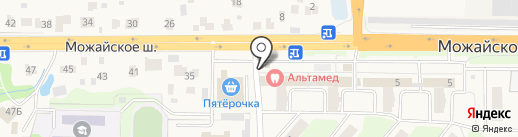 Магазин рыбной продукции на карте Больших Вязёмов