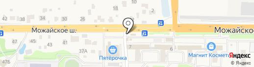 Магазин горячей выпечки на карте Больших Вязёмов