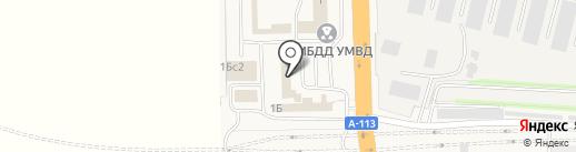 Автошкола Стрела Авто на карте Больших Вязёмов