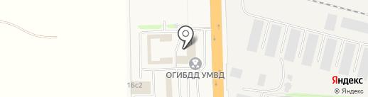 Магазин автотоваров и туристического снаряжения на карте Больших Вязёмов
