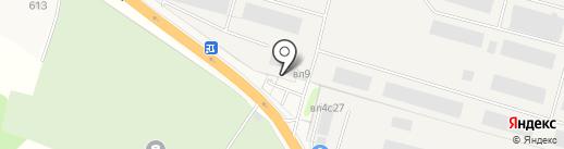 ОборонАвиаХран на карте Больших Вязёмов