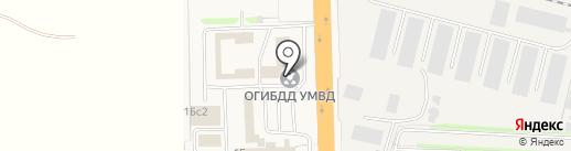 Центр автоматизированной фиксации административных правонарушений в области дорожного движения ГИБДД на карте Больших Вязёмов