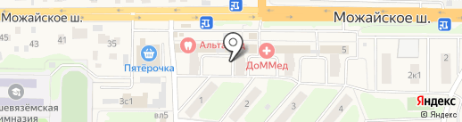 Вин Трестъ на карте Больших Вязёмов