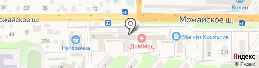 МегаФон на карте Больших Вязёмов