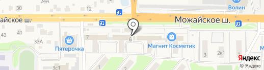 ГлавТабак на карте Больших Вязёмов