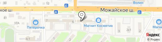 Modern-Hostel на карте Больших Вязёмов