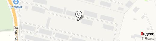 Тракторёнок на карте Больших Вязёмов