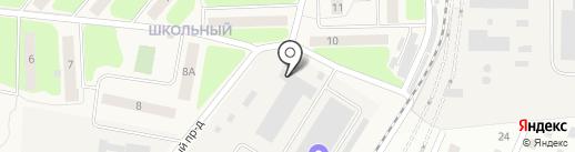 Комус-Упаковка на карте Больших Вязёмов