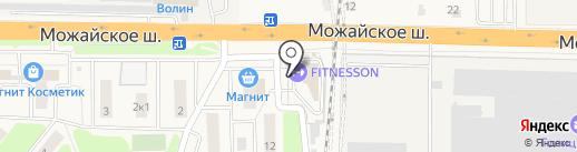 РЕСО-Гарантия, СПАО на карте Больших Вязёмов