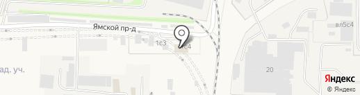 Автосервис на карте Больших Вязёмов