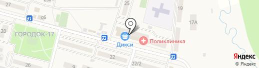 Магазин косметики на карте Больших Вязёмов