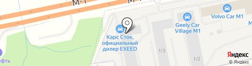 ГЕМА-Трак на карте Краснознаменска