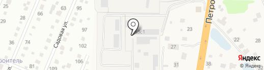 ДЮВА-мебель на карте Малых Вязёмов