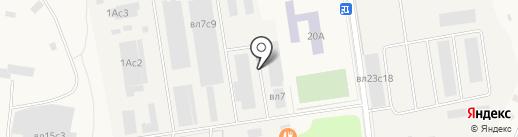 БИГ ХАУС на карте Больших Вязёмов