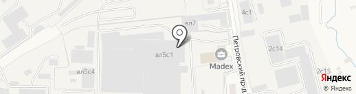 Центрторг на карте Малых Вязёмов