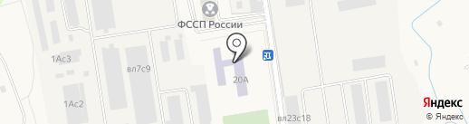 Мало-Вязёмская средняя общеобразовательная школа на карте Больших Вязёмов