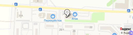 Банкомат, Сбербанк, ПАО на карте Горок-10
