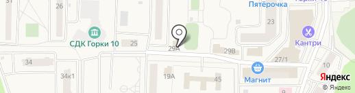 Круг на карте Горок-10