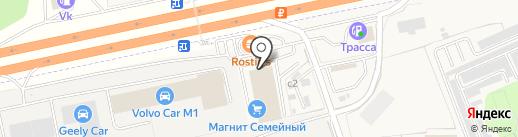 Банкомат, Московский кредитный банк, ПАО на карте Краснознаменска