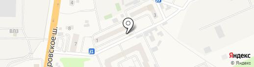ГлавТабак на карте Малых Вязёмов