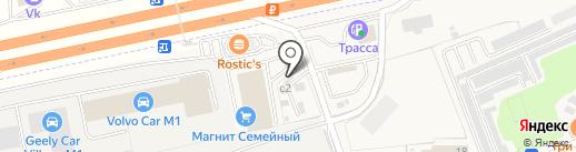Шиномонтажная мастерская на карте Краснознаменска