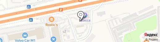 АЗС Арис на карте Краснознаменска