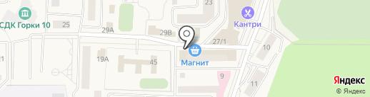 Екатерина на карте Горок-10