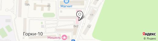 Норма на карте Горок-10