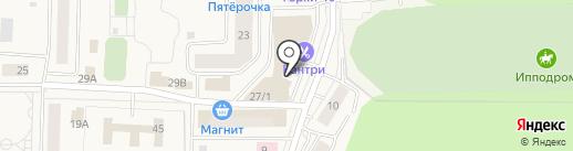 Лабиринт на карте Горок-10