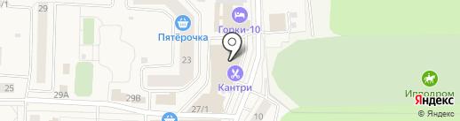 Мария на карте Горок-10