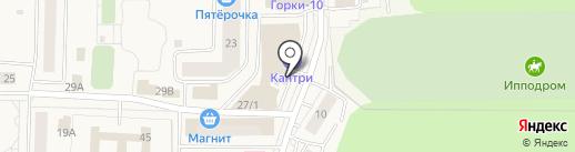 Магазин овощей и фруктов на карте Горок-10