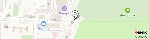 Московская Служба Коммунального Сервиса на карте Горок-10