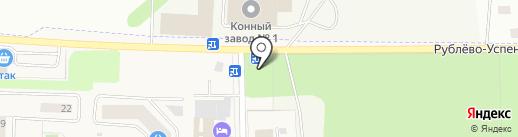 Часовня Преподобной Анастасии Нижегородской на карте Горок-10