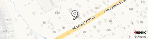 Автолюкс-3 на карте Малых Вязёмов