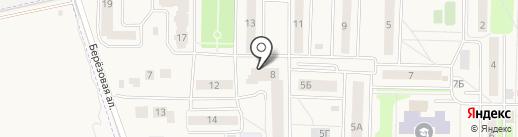 Ирис на карте Краснознаменска