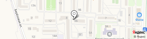 Магазин штор на карте Краснознаменска