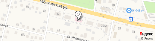 Снегиревская поликлиника на карте Снегирей