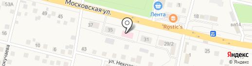 Снегирёвская амбулатория на карте Снегирей