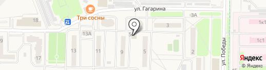 Югория на карте Краснознаменска